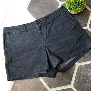 Banana Republic dark denim shorts
